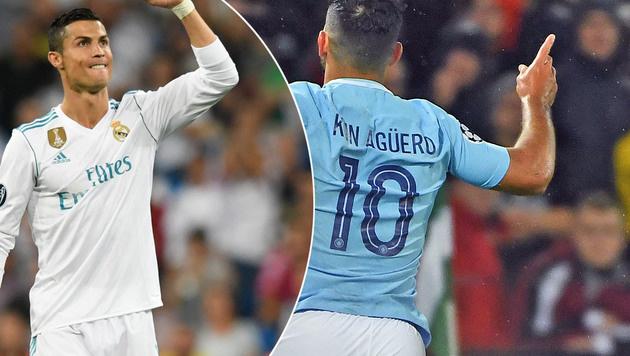 Ronaldo in Ballerlaune - ManCity zerlegt Feyenoord (Bild: AFP)