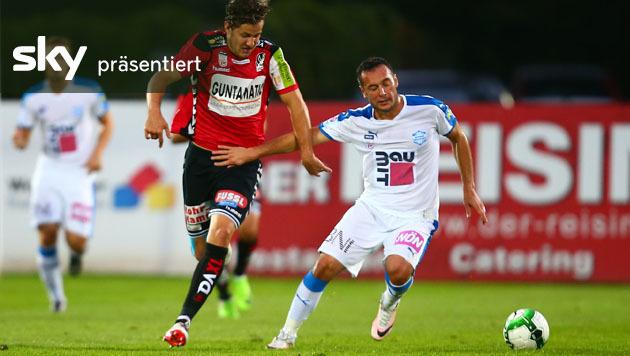 Wiener Neustadt verliert gegen Ried mit 0:3 (Bild: GEPA)