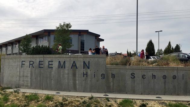 Schüler wollte Amokläufer aufhalten - erschossen (Bild: ASSOCIATED PRESS)