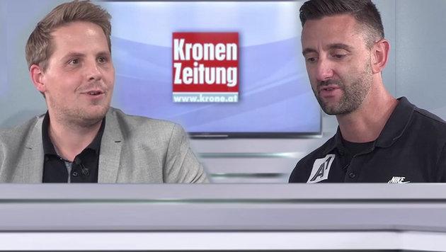 """Vize-Weltmeister Doppler: """"Waren kaum zu schlagen"""" (Bild: krone.tv)"""