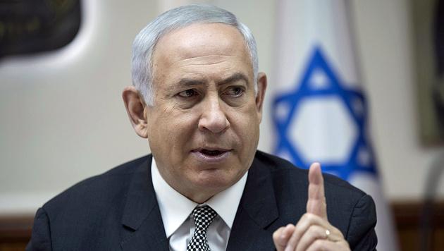 Israels Ministerpräsident Benjamin Netanyahu (Bild: AP)