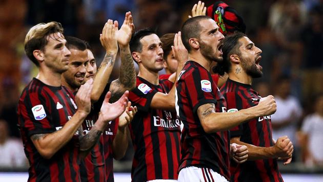 Austria vs. AC Milan: 20,4 Millionen fordern 331,8 (Bild: AFP)