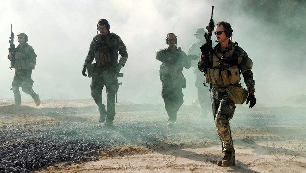 Navy Seals bei einer Einsatzübung in den USA. (Bild: AP)