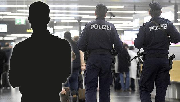 Abgeschobener Häftling war nach 14 Tagen wieder da (Bild: APA/HELMUT FOHRINGER, stock.adobe.com, krone.at-Grafik)
