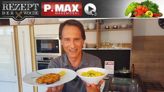 Rezept der Woche: Krenschnitzel mit Erdäpfelsalat (Bild: krone.at)