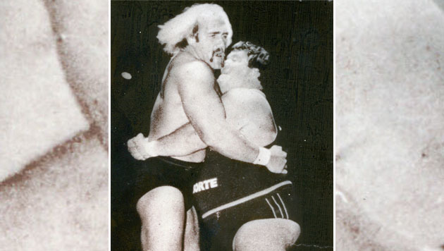 Otto Wanz gegen Hulk Hogan (Bild: Fritz Leitner)