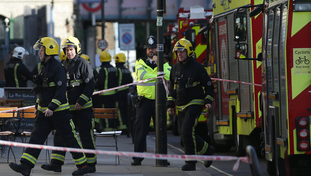 "Scotland Yard vermeldet ""bedeutende Festnahme"" (Bild: AFP)"