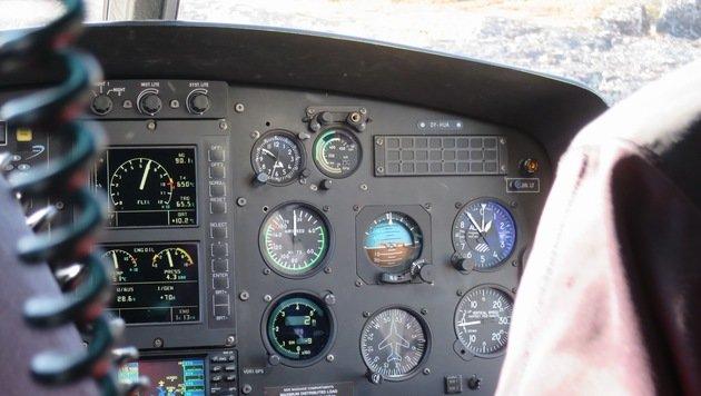Salzburger Pilot als Flugretter in der Arktis (Bild: Gregor Brandl)