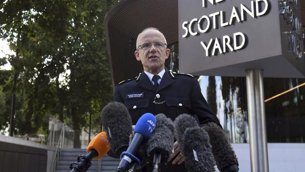 """Scotland Yard vermeldet """"bedeutende Festnahme"""" (Bild: AP)"""