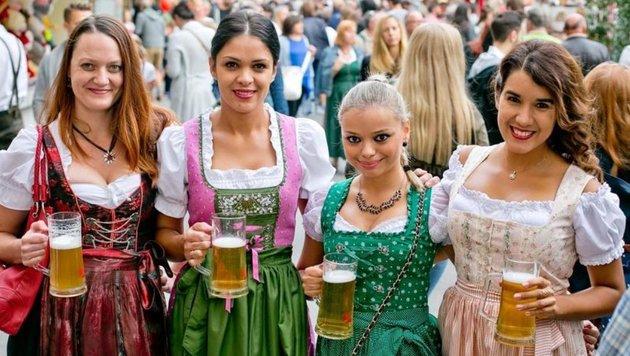 Ab Mittwoch werfen sich die Salzburger wieder in die Tracht (Bild: WildBild)