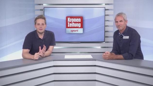 Konsel analysiert die achte Bundesliga-Runde (Bild: krone.tv)