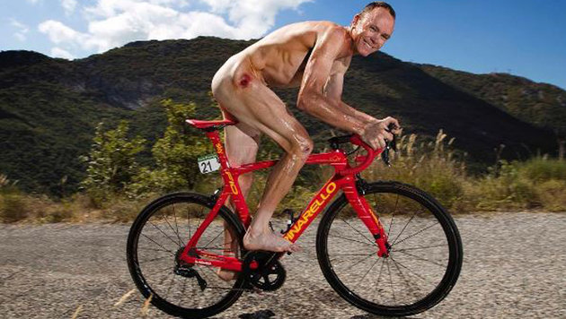 Tour-de-France- und Vuelta-Sieger Chris Froome lässt die Hüllen fallen. (Bild: instagram.com)