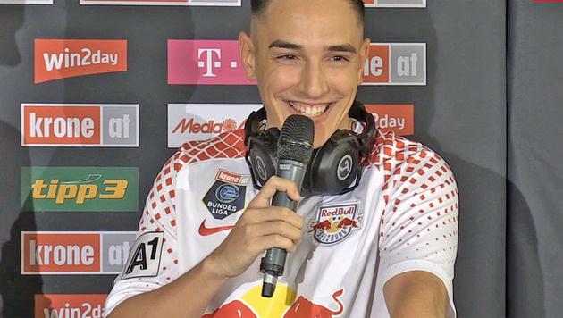 Andres Torres will für Salzburg den Titel erzocken (Bild: krone.tv)