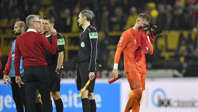 Köln verzichtet nach Video-Skandal auf Protest (Bild: AP)