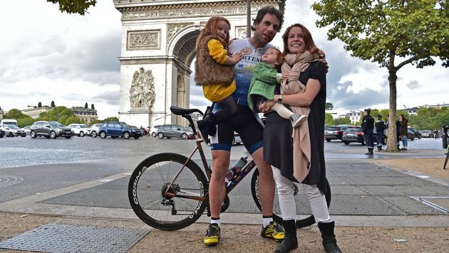 Schotte umrundet die Welt mit dem Rad in 79 Tagen (Bild: AFP)