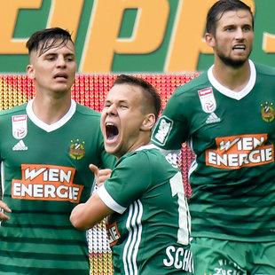 4:0! SK Rapid feiert Cup-Erfolg über Elektra (Bild: APA/HERBERT NEUBAUER)