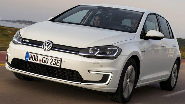 VW plant das Aus für den e-Golf! (Bild: Volkswagen)