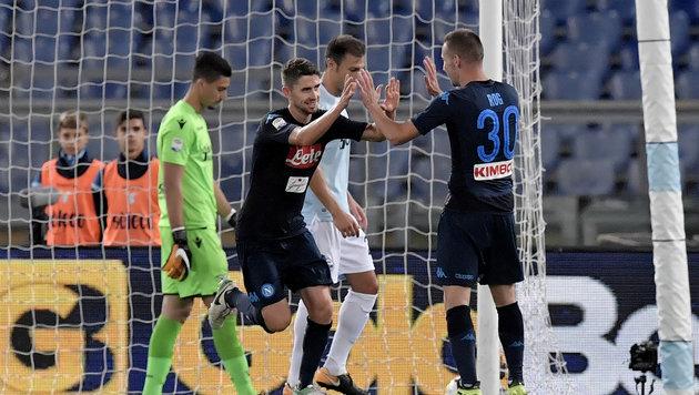 Napoli und Juventus weiter ohne Punktverlust (Bild: AFP)