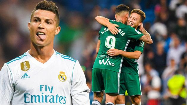 Peinlich-Pleite! Real Madrid verpasst Weltrekord (Bild: APA/AFP/GABRIEL BOUYS, krone.at-Grafik)