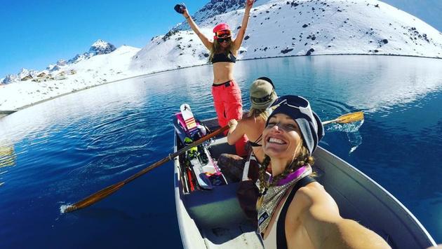 Julia Mancuso freut sich schon auf den Ski-Winter. (Bild: instagram.com)