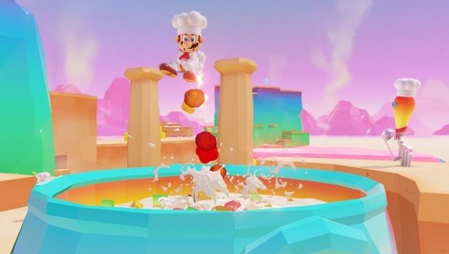 """""""Super Mario Odyssey"""": Ein Mann und seine Mütze (Bild: Nintendo)"""
