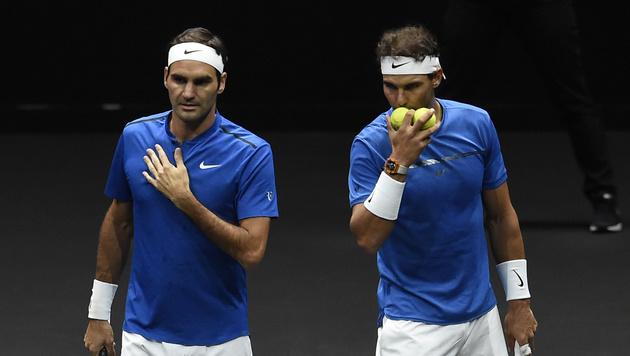 Federer und Nadal bringen Europa mit 9:3 in Front (Bild: AFP)