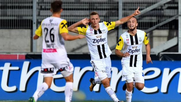 """LASK sieht sich """"angekommen"""" in der Bundesliga (Bild: GEPA)"""