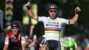 Rad-Held Sagan holt dritten WM-Titel in Serie! (Bild: AP)