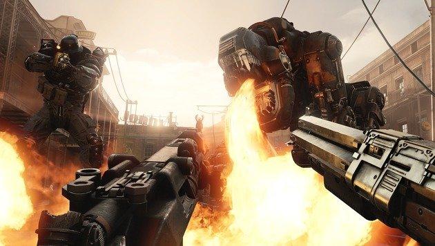 """Oktober bringt """"Wolfenstein II"""", """"AC Origins"""" & Co (Bild: Bethesda)"""
