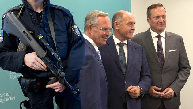 Wiener ÖVP: Sturmgewehre & Smartphones für Polizei