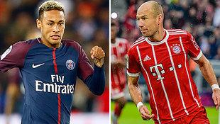 PSG und Bayern im 1. Härtetest für 2 Titelanwärter (Bild: AP, APA/AFP/Guenter SCHIFFMANN)