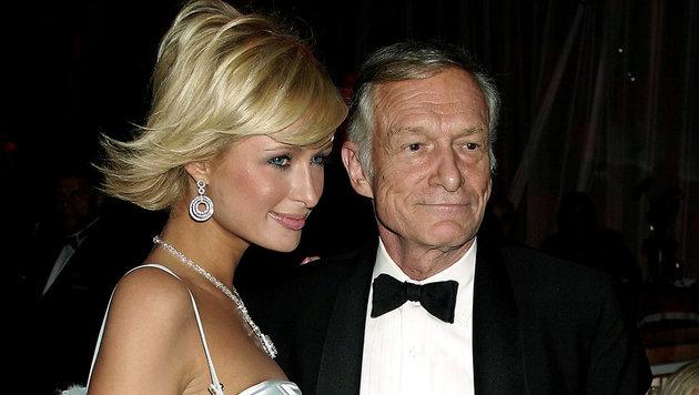 Paris Hilton und Hugh Hefner (Bild: 2004 Getty Images)