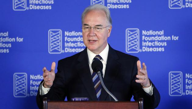 US-Gesundheitsminister Price wirft das Handtuch (Bild: The Associated Press)