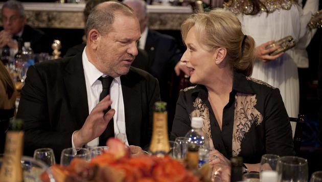 Harvey Weinstein und Meryl Streep (Bild: Hollywood Picture Press/face to)