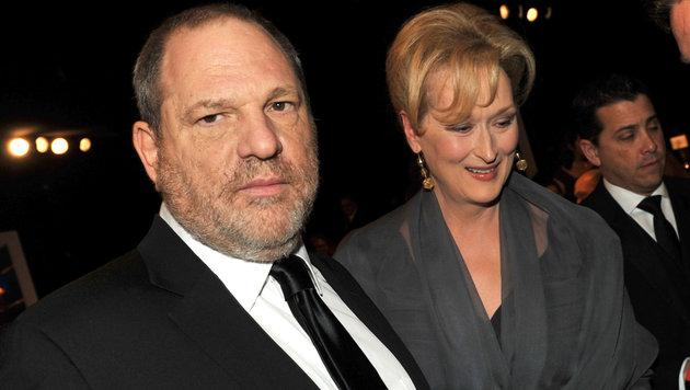 Harvey Weinstein und Meryl Streep (Bild: 2012 Getty Images)