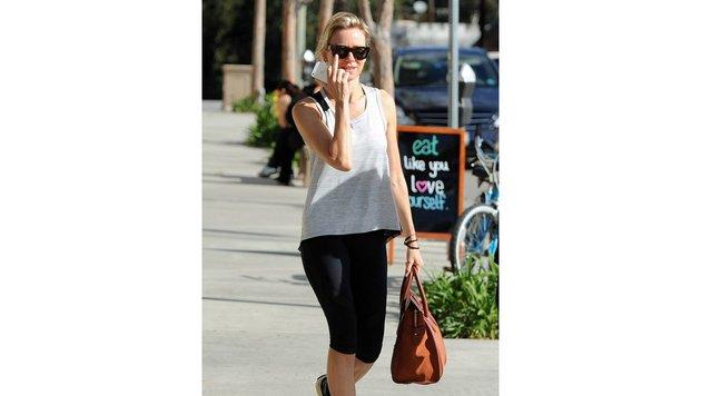 Naomi Watts auf dem Weg zum morgendlichen Training. (Bild: www.PPS.at)