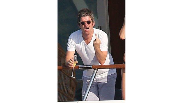 "Noel Gallagher zeigt: ""Lasst mich in Ruhe!"" (Bild: www.PPS.at)"