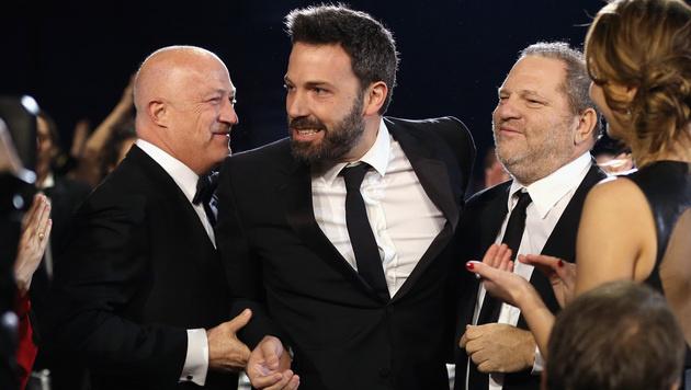 Ben Affleck mit Harvey Weinstein (rechts) (Bild: 2013 Getty Images)