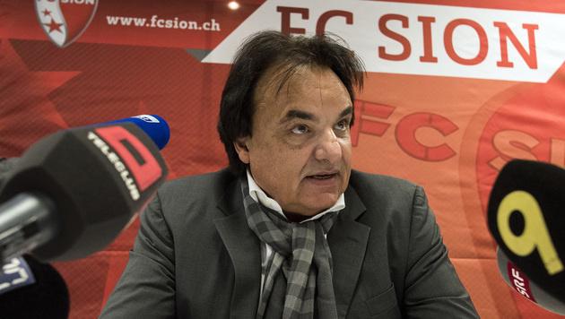 Sion-Boss nach Prügelattacke 14 Monate gesperrt (Bild: AP)