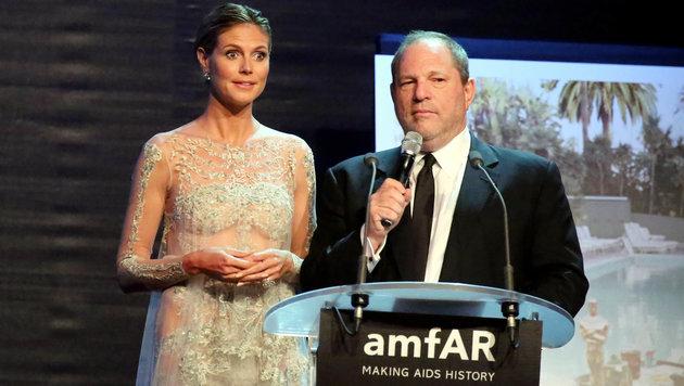 Heidi Klum und Harvey Weinstein (Bild: www.photopress.at)
