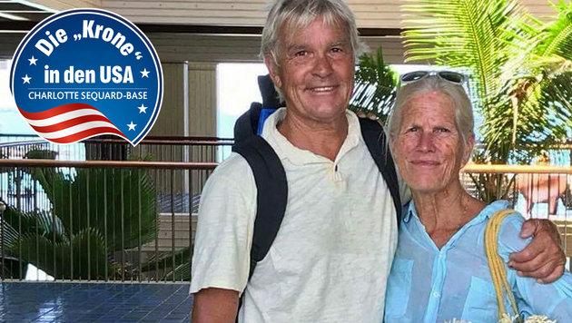 John und Jan Pascoe überlebten die verheerenden Brände in Kalifornien. (Bild: facebook.com)