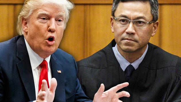 Einreisestopp: Jetzt blockiert Hawaii Trumps Pläne (Bild: AP, krone.at-Grafik)
