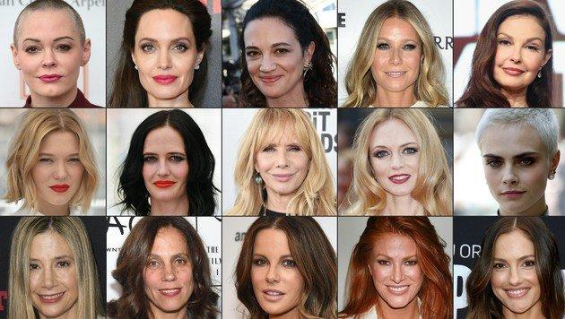 Dutzende Frauen werfen Harvey Weinstein sexuelle Belästigung bis hin zu Vergewaltigung vor. (Bild: AFP)