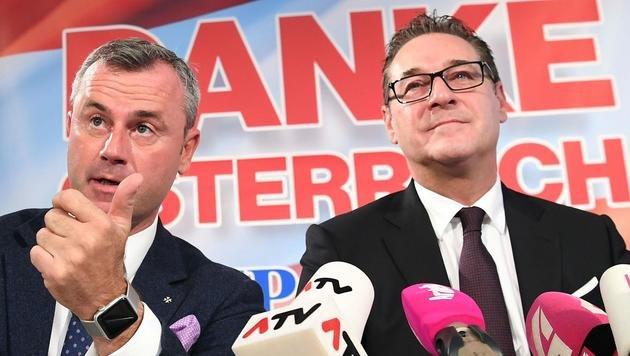 """Hofer: """"Derzeit nur ÖVP realistische Option"""" (Bild: APA/Helmut Fohringer)"""
