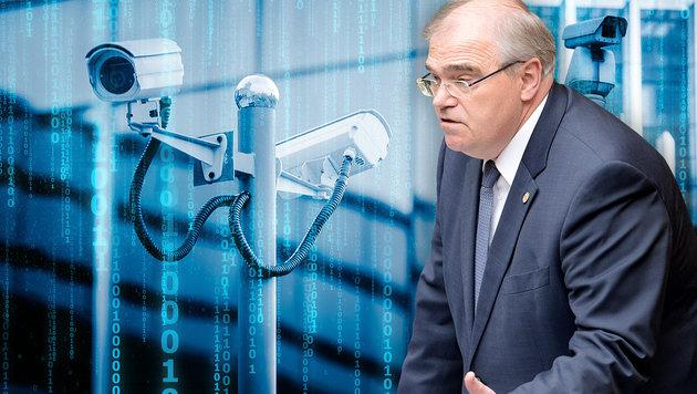 """Brandstetter: Sicherheitspaket """"ist Notwendigkeit"""" (Bild: APA/ROLAND SCHLAGER, stock.adobe.com, krone.at-Grafik)"""