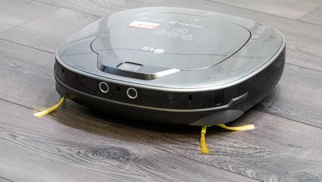 Jetzt patchen: Lücke macht LG-Saugroboter zu Wanze (Bild: LG Electronics)