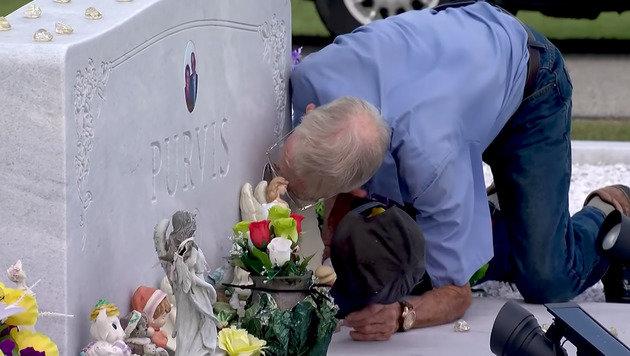 Witwer geht nie ohne seine verstorbene Frau essen (Bild: TV-Station WTOC)