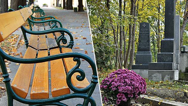 Parks und Friedhöfe in Wien, OÖ und Sbg bleiben zu (Bild: stock.adobe.com, APA/HERBERT NEUBAUER)