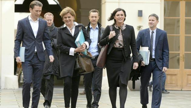 ÖVP und FPÖ lassen noch einmal nachrechnen (Bild: APA/HANS KLAUS TECHT)
