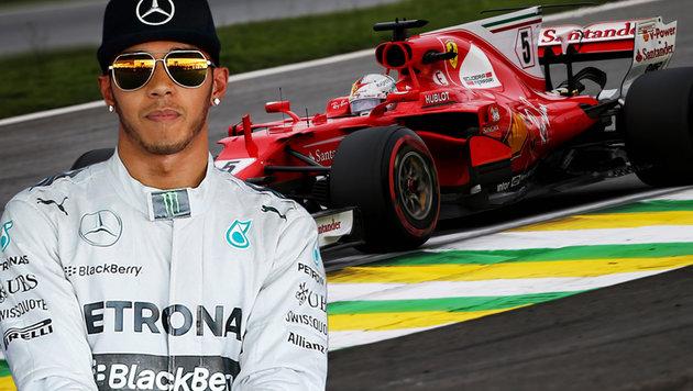 Lewis Hamilton plant Urlaub vor dem Fernseher (Bild: GEPA)